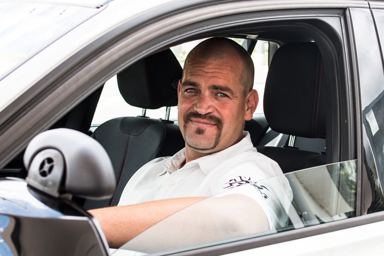 Fahrlehrer Alexander Vötter